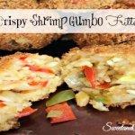 Crispy Shrimp Gumbo Fritters