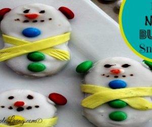 DIY Nutter Butter Snowman