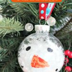 Easy Snowman Ornament