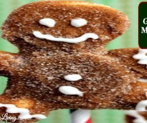 DIY Gingerbread Marshmallow Pops
