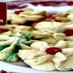 Holiday Spritz Butter Cookies