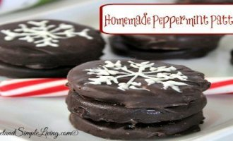 homemade peppermint patties feature