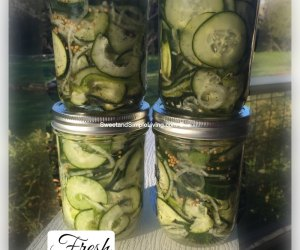 Fresh Pickled Cucumber Salad Recipe
