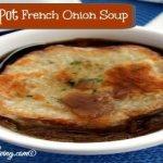 Easy Crock Pot French Onion Soup