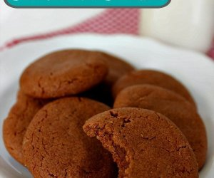 Easy Peanut Butter Chocolate Cookies