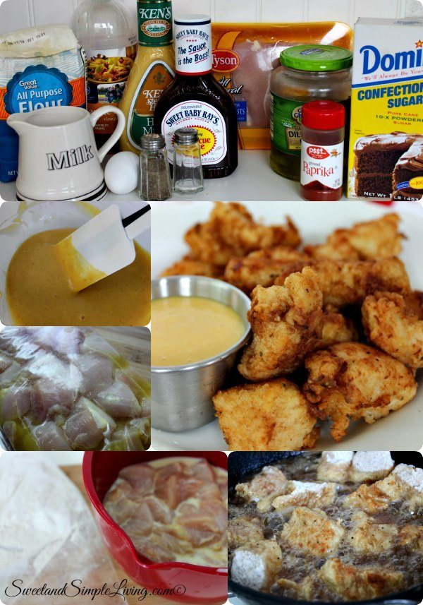 homemade copycat chick fil a nuggets
