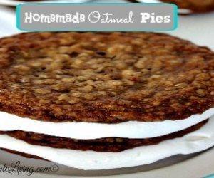 Homemade Oatmeal Pies