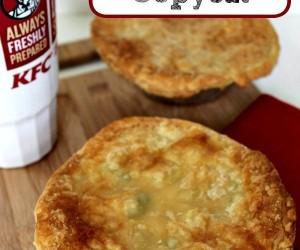 KFC Chicken Pot Pie Copycat Recipe