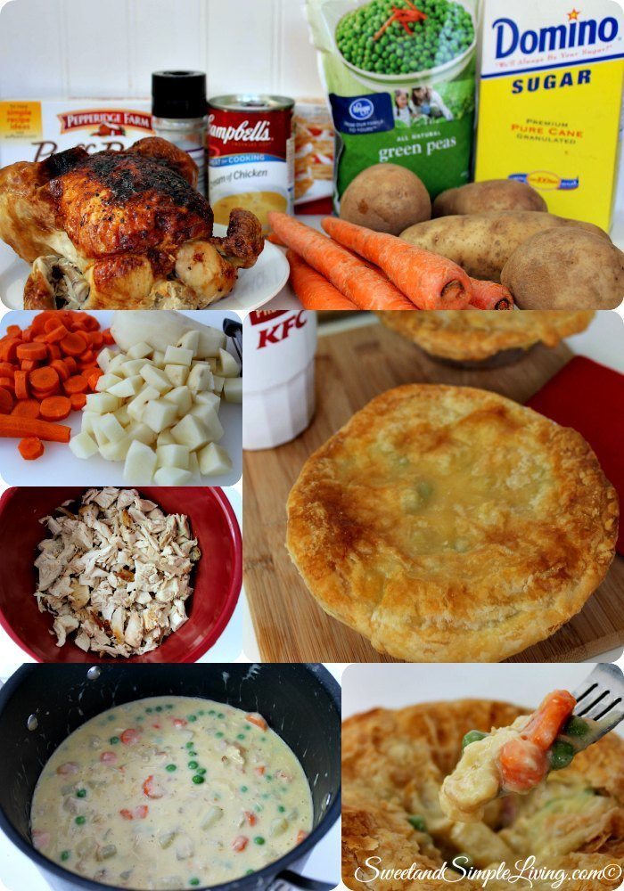 Kfc Chicken Pot Pie Copycat Recipe Sweet And Simple Living