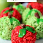 Rice Krispie Apple Treats