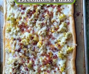 5 Ingredient Breakfast Pizza