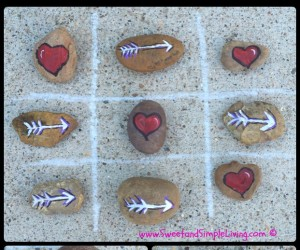 Valentine's Day Games:  Hearts and Arrows