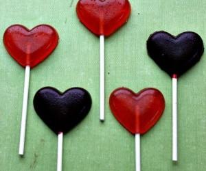 DIY Valentine Suckers