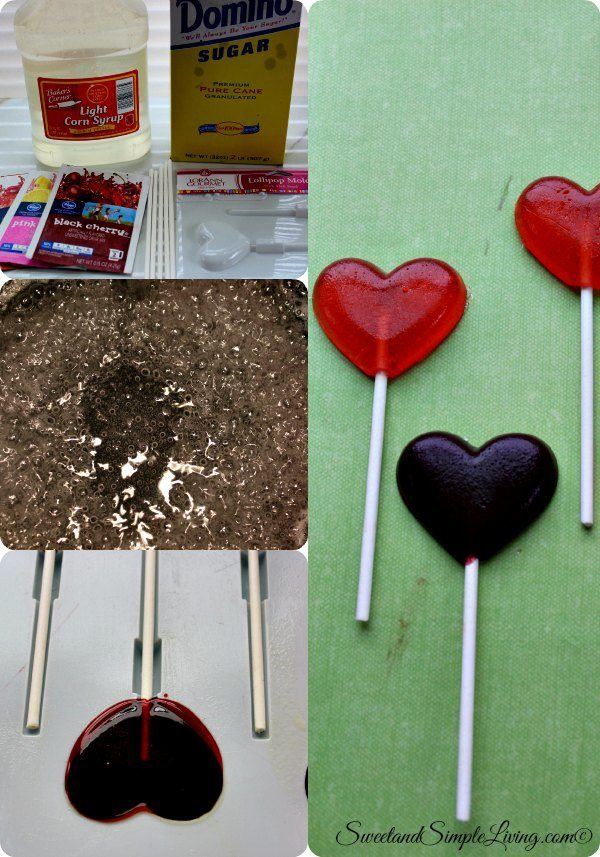 diy valentine suckers
