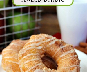 Simple Apple Cider Glazed Donuts