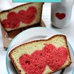 Surprise Heart Pound Cake