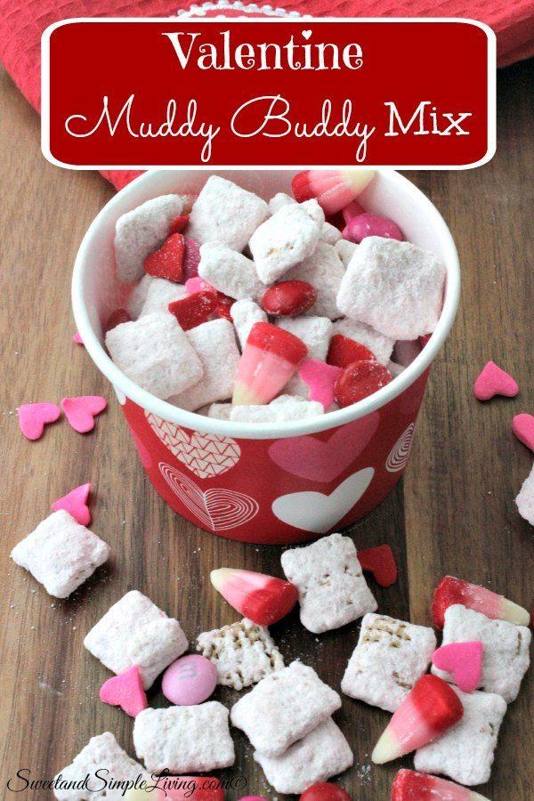 valentine muddy buddy mix