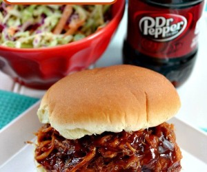 Best Ever Dr. Pepper Pulled Pork