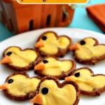 Easy Pretzel Chicks