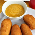 Homemade Mini Corn Dogs