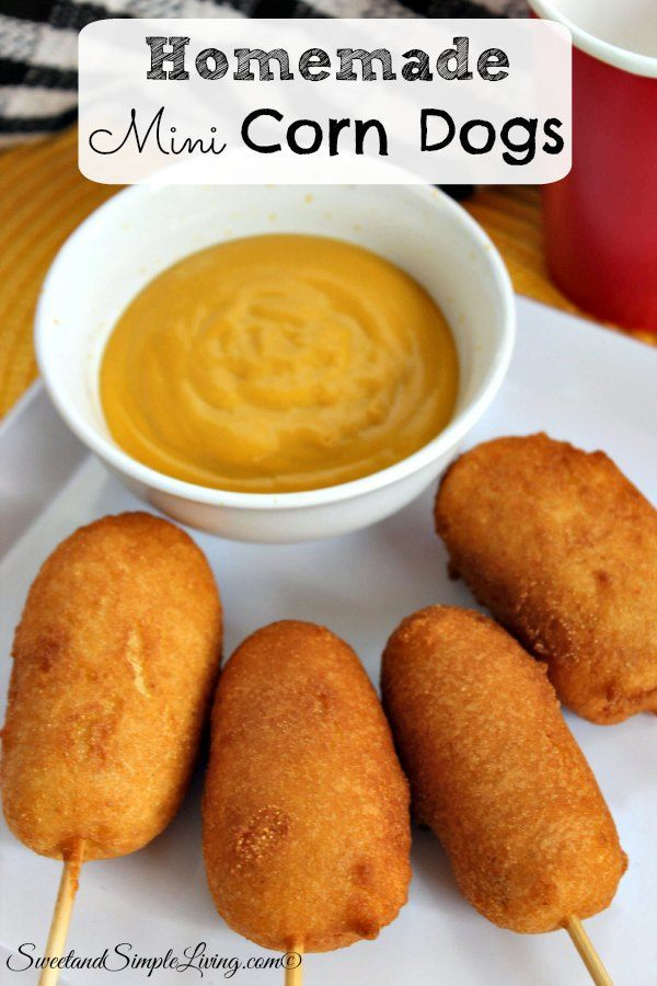 and sausage corn dogs easy homemade doughnuts easy homemade corn dogs ...