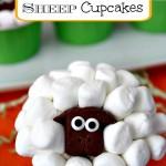 Marshmallow Sheep Cupcakes