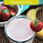 Quick Strawberry Banana Smoothie