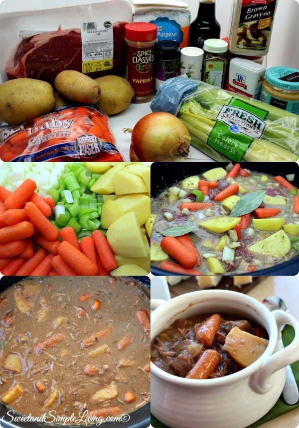 slow cooker rustic beef stew coll