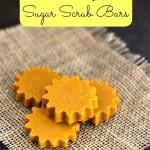 Easy Sun Shaped Sugar Scrub Bars