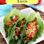Fresh Lettuce Wrap Tacos