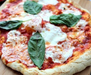 Homemade Pizza Margherita