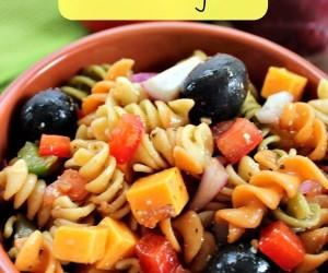 Pasta Salad with Balsamic Vinaigrette