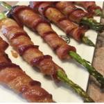 Appetizer Idea:  Bacon Wrapped Asparagus
