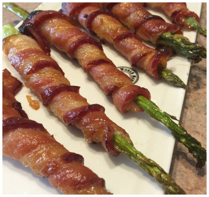 THE BEST Bacon Wrapped Asparagus EVER!