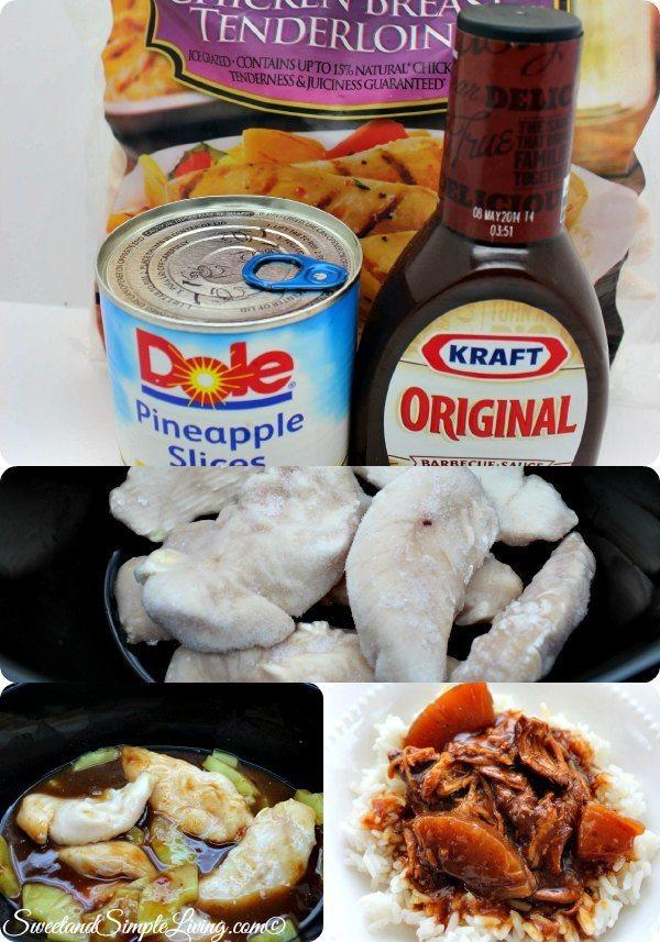 Crock Pot Hawaiian Barbecue Chicken Recipe
