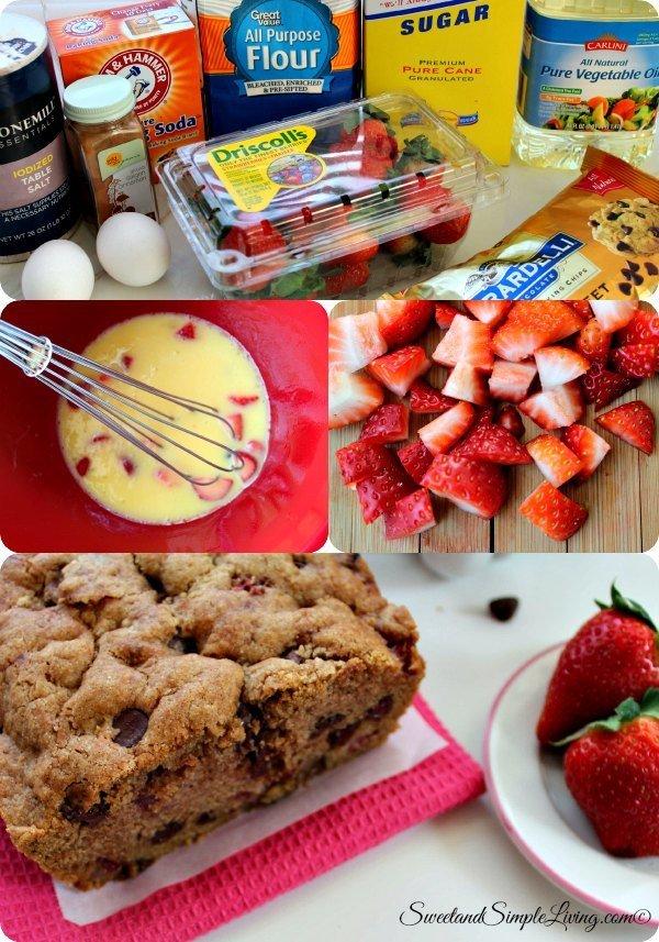 Strawberry Quick Bread Recipe Chip Quick Bread Recipe
