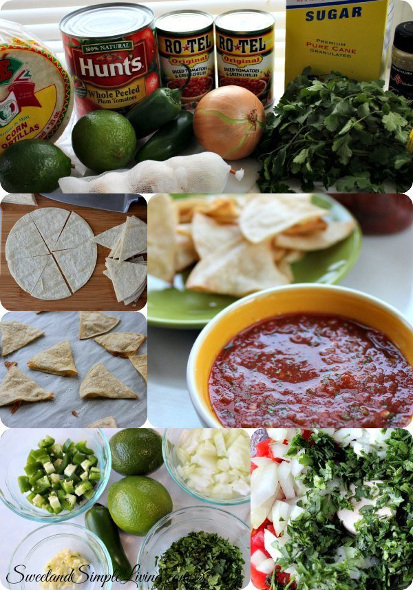 make at home chips and salsa