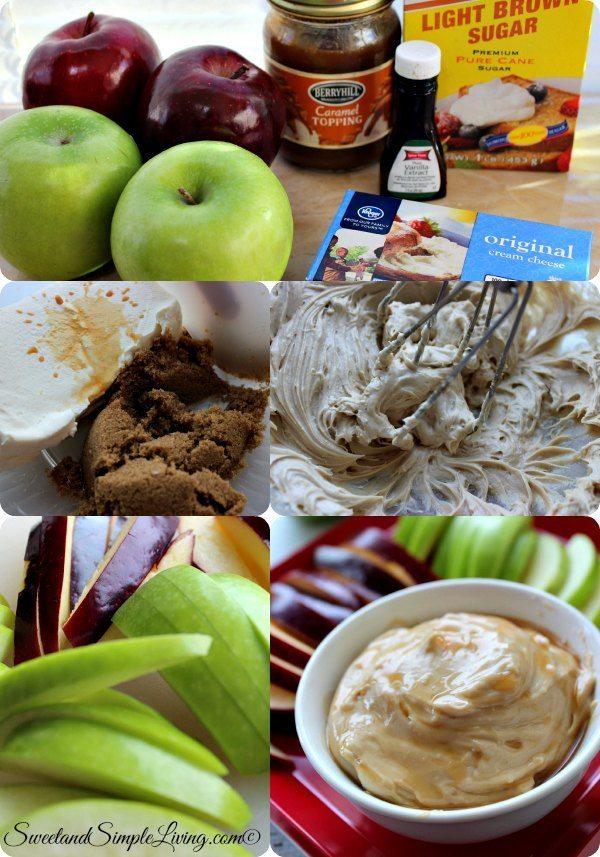 simple caramel apple dip
