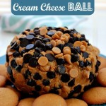 Sweet Peanut Butter Cream Cheese Ball