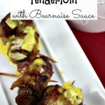 Bacon Wrapped Tenderloin with Bearnaise Sauce