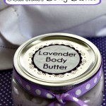 DIY Lavender Body Butter