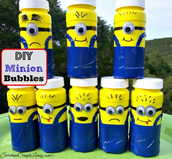 diy minion bubbles