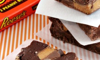 quick and easy reeses fudge