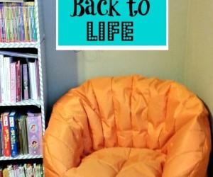 DIY Bring A Bean Bag Back To Life