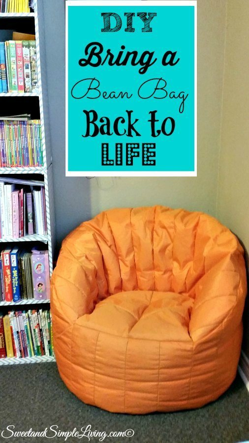 Diy Bring A Bean Bag Back To Life Cheap And Easy