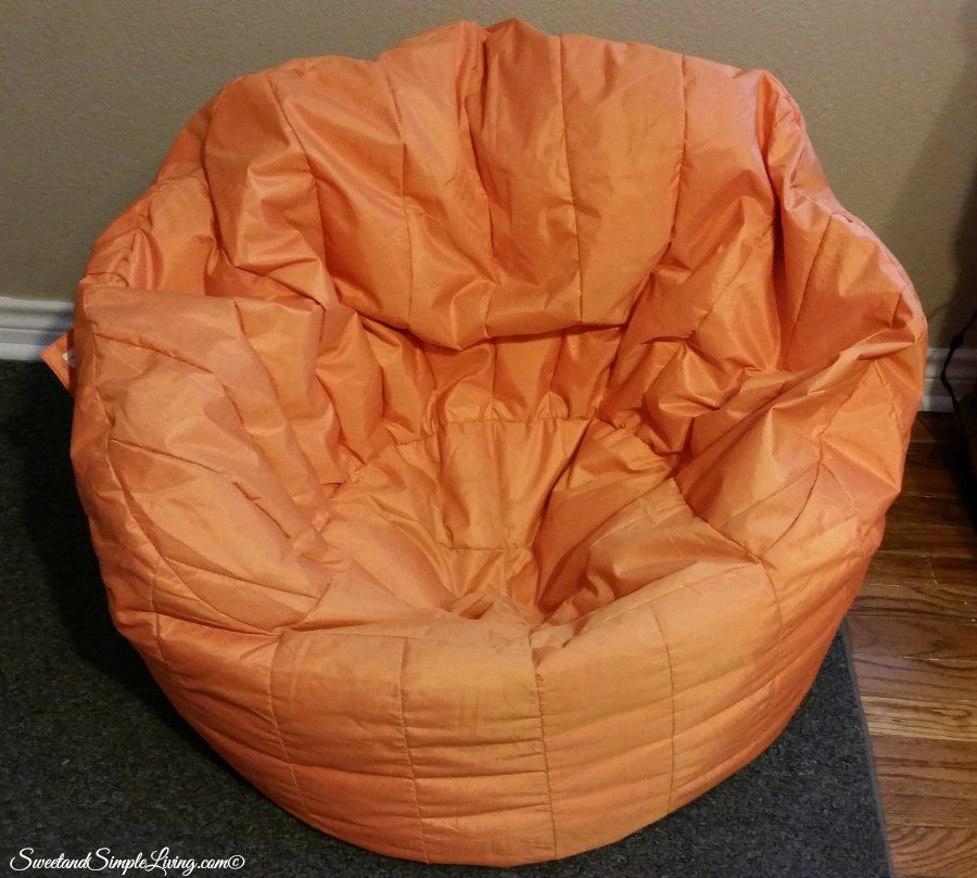 diy bring a bean bag back to life