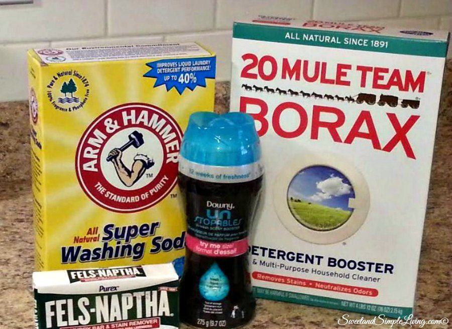 DIY Powder Laundry Detergent! Make It