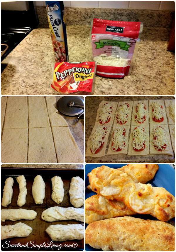 make at home pizza rolls