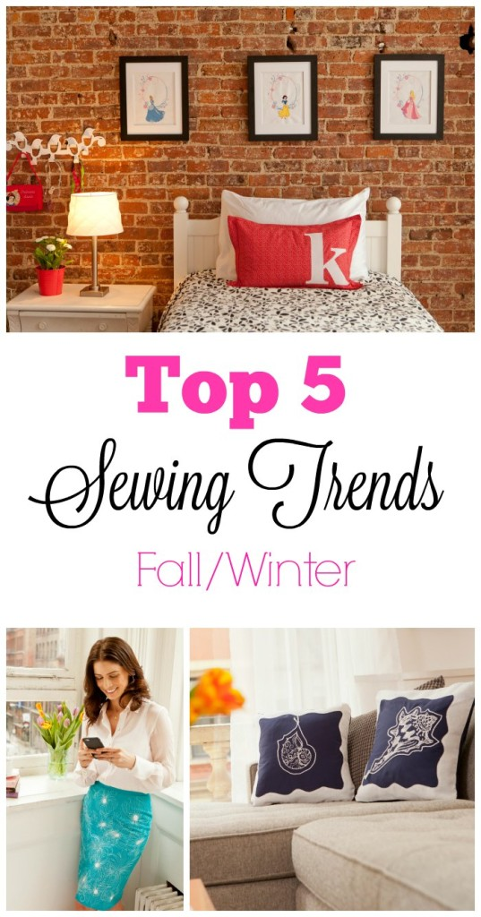 Top 5 Sewing Trends for Fall and Winter