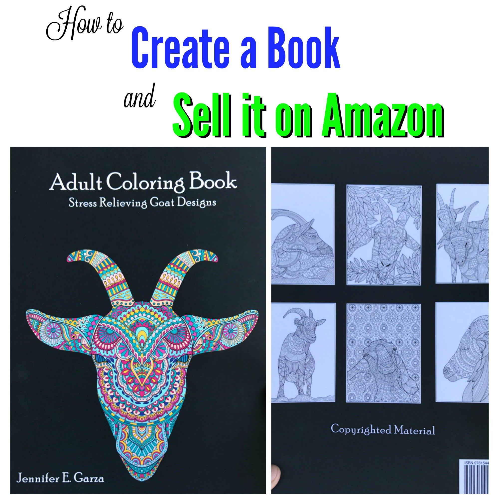 How to Create a Book and Sell it on Amazon